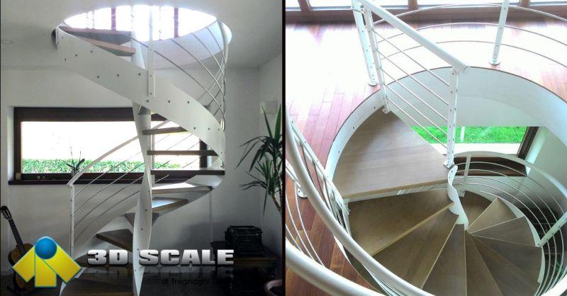 3D SCALE - offerta progettazione e realizzazione scale a chiocciola Verona