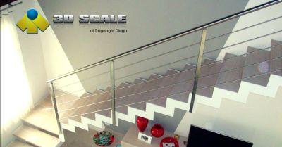 offerta realizzazione scale modulari per interni occasione produzione scale di design verona