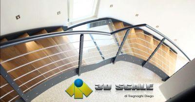 3d scale offerta realizzazione ed installazione di scale a giorno per interni verona