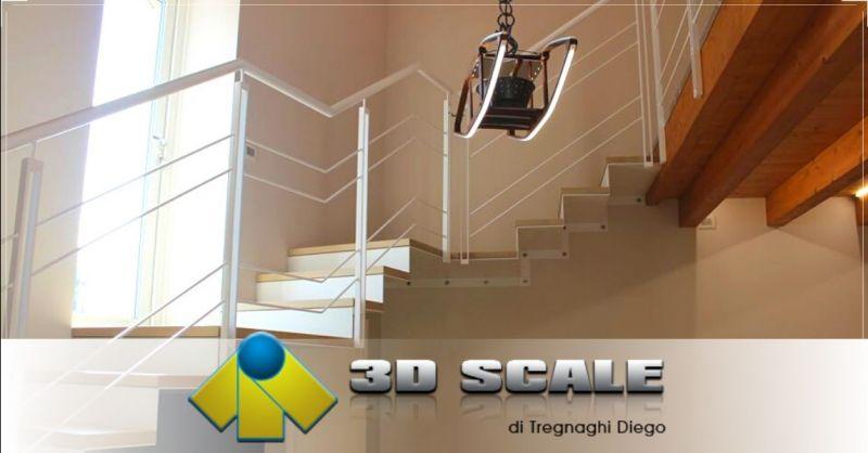 Offerta progettazione scale a giorno laser lama Verona - Occasione produzione scale taglio laser Vicenza