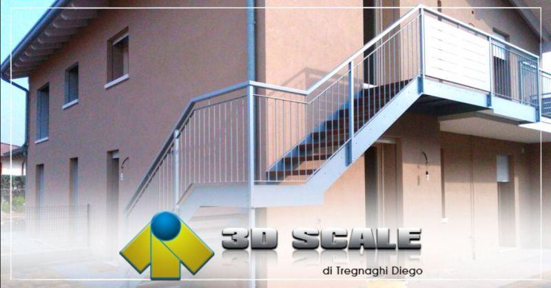 Offerta realizzazione scale per esterni Vicenza - Occasione installazione scale metalliche in acciaio Verona