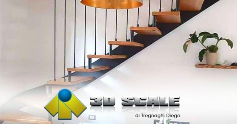 Occasione produzione scale in legno per interni Vicenza - Offerta realizzazione scale modulari Verona