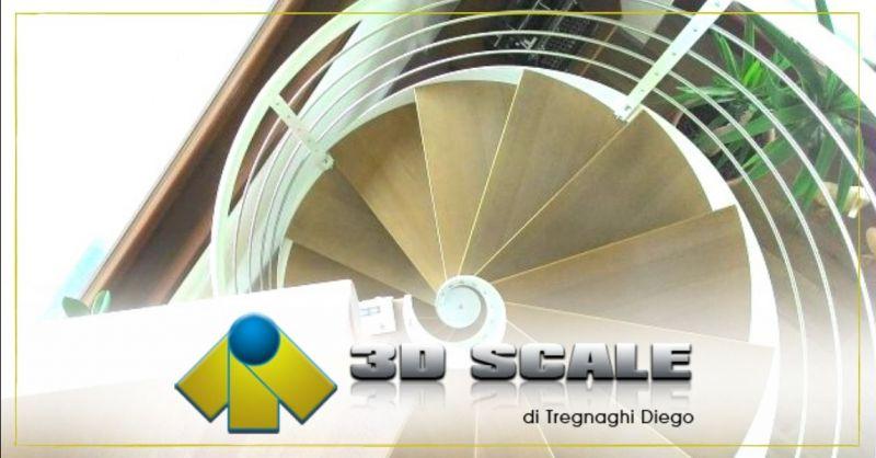 Promozione produzione scale a chiocciola ferro legno - Offerta realizzazione scale a chiocciola su misura Verona