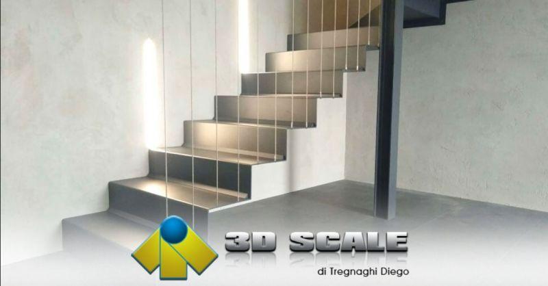 Promozione installazione scale a giorno Verona - Offerta progettazione scale moderne per interni Vicenza