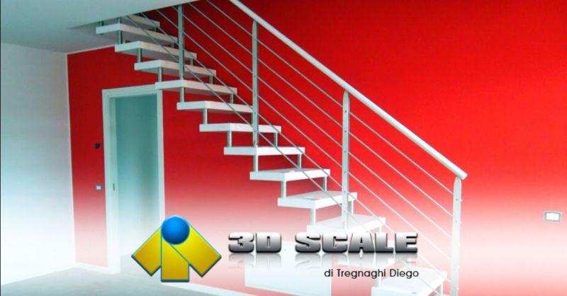 Promozione realizzazione scale senza struttura Verona - Offerta installazione corrimano scale Verona