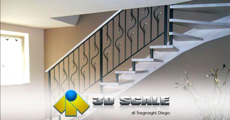 Occasione realizzazione scale a sbalzo Verona - Offerta progettazione scale per interni in legno Verona