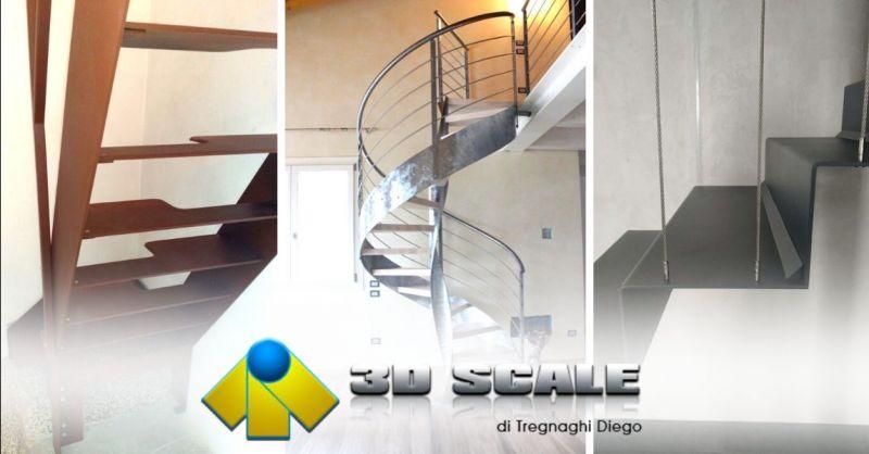 Offerta costruzione scale in acciaio inox Vicenza - Occasione realizzazione scale alla marinara Verona