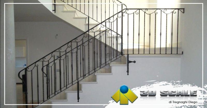 Offerta realizzazione ringhiere in vetro provincia Verona - Occasione produzione ringhiere elicoidali