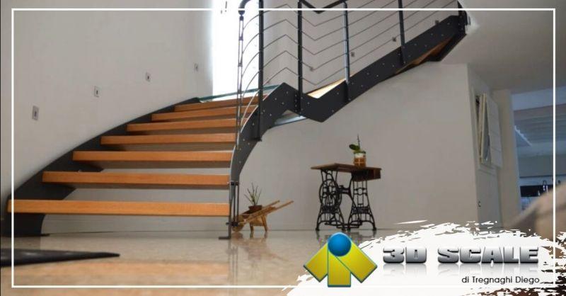 Offerta realizzazione scale elicoidali doppia struttura - Occasione produzione scale a chiocciola Vicenza