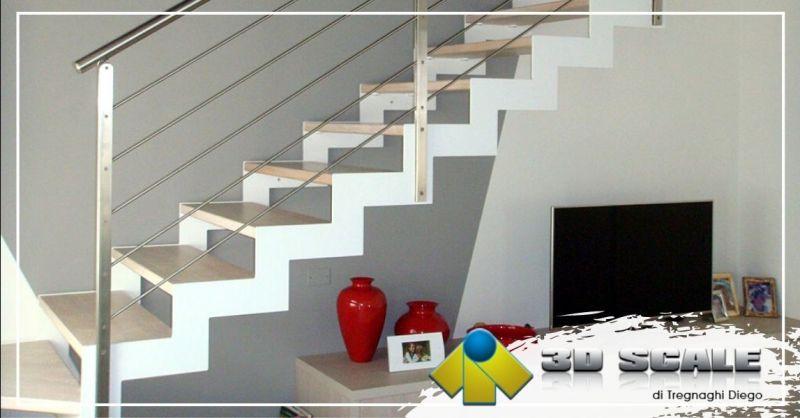 Offerta realizzazione scale per interni su misura provincia Vicenza - Occasione la migliore azienda di scale Vicenza