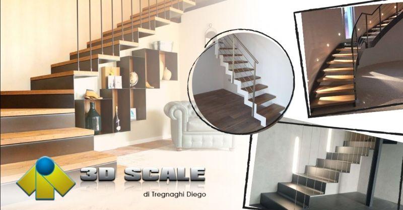 Offerta Azienda specializzata costruzione scale - Occasione Produzione scale per interni Verona