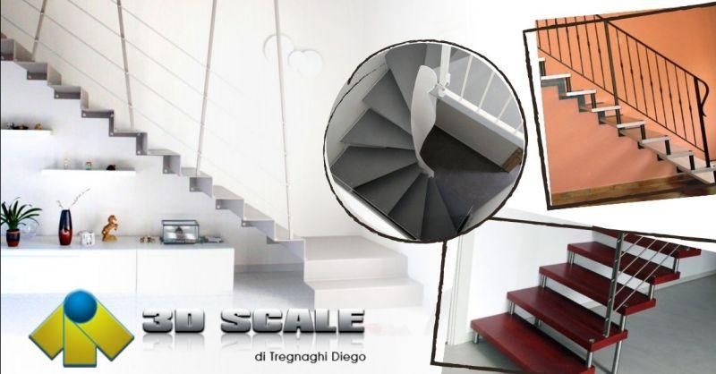 Occasione produzione scale interne di design - Offerta Progettazione scale su misura provincia Verona