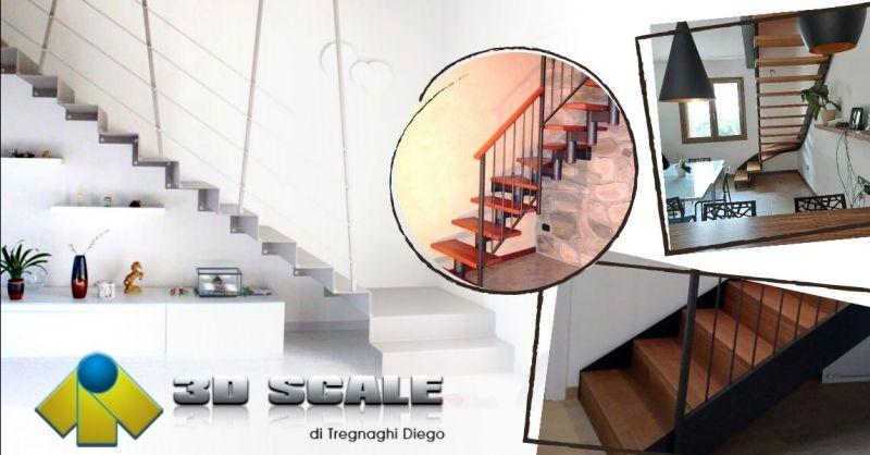 Offerta progettazione scale a chiocciola - Occasione realizzazione scale in ferro Verona e provincia