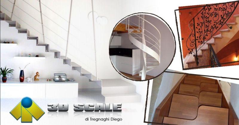 Offerta realizzazione scale alla marinara - Occasione realizzazione scale in legno su misura Verona