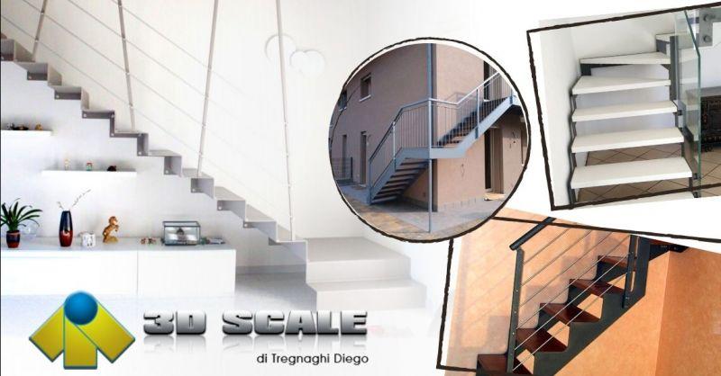 Promozione azienda che produce scale in legno ferro - Offerta produttori scale moderne Vicenza