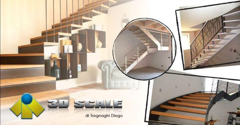 Offerta realizzazione balaustre su misura Vicenza - Occasione costruzione scale a giorno Vicenza