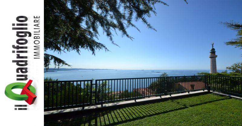 offerta villa di lusso in vendita a Trieste - occasione vendita villa vista mare Trieste