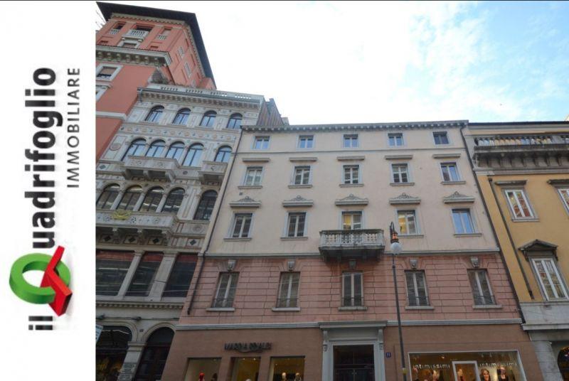 QUADRIFOGLIO IMMOBILIARE occasione vendita appartamento Corso Italia Trieste