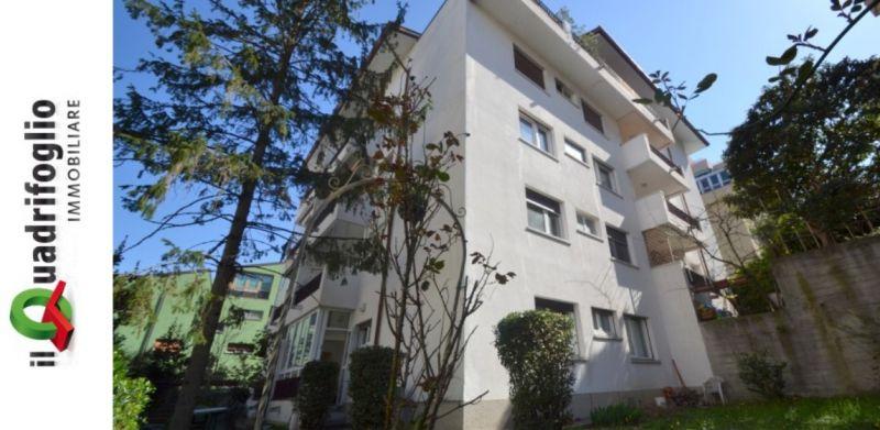 QUADRIFOGLIO IMMOBILIARE occasione vendita appartamento con giardino Via Pinguente Trieste