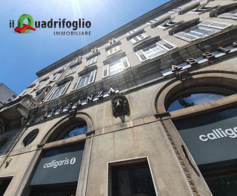 QUADRIFOGLIO IMMOBILIARE vende appartamento via battisti – promo trilocale palazzo storico