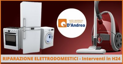 offerta riparazione elettrodomestici di tutte le marche a domicilio pistoia