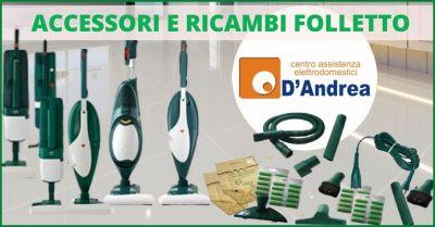 promozione vendita diretta di accessori e ricambi originali per folletto pistoia