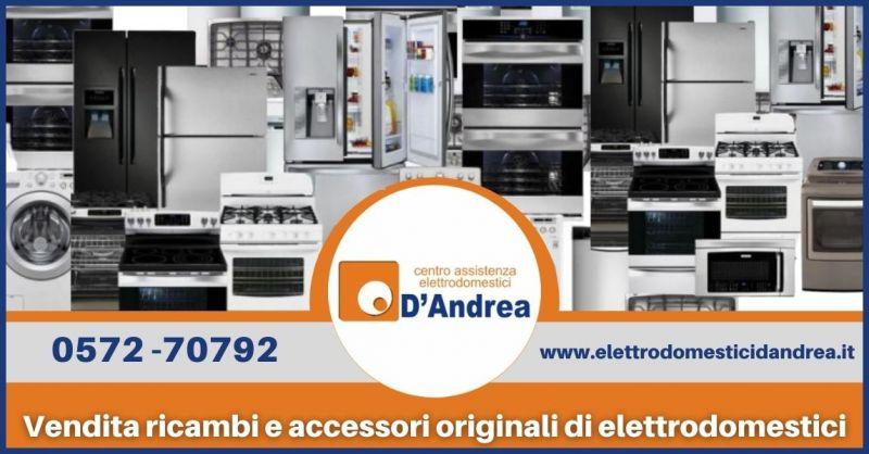 occasione vendita ricambi e accessori originali di elettrodomestici a Pistoia