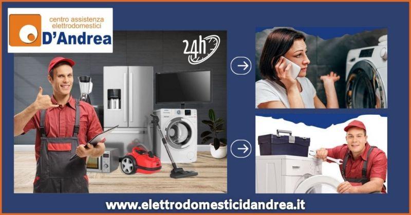 occasione riparazione elettrodomestici a domicilio in 24 ore a Pistoia - ELETTRODOMESTICI D ANDREA