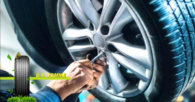 offerta vendita pneumatici di tutte le marche Terni - occasione servizio gommista Terni