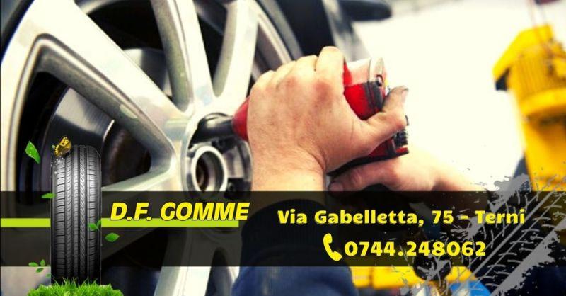 Offerta vendita montaggio pneumatici auto moto camion - Occasione servizio assistenza pneumatici Terni
