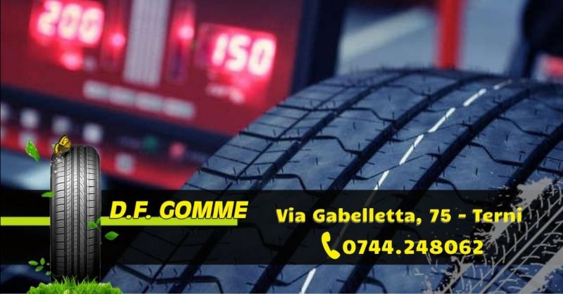 Offerta check up pneumatici auto Terni - Occasione servizio equilibratura e convergenza gomme Terni