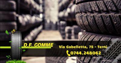 offerta gommista con deposito gomme terni occasione vendita pneumatici di alta qualita terni