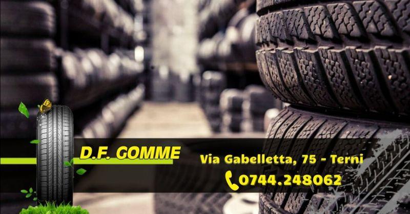 Offerta gommista con deposito gomme Terni - Occasione vendita pneumatici di alta qualità Terni