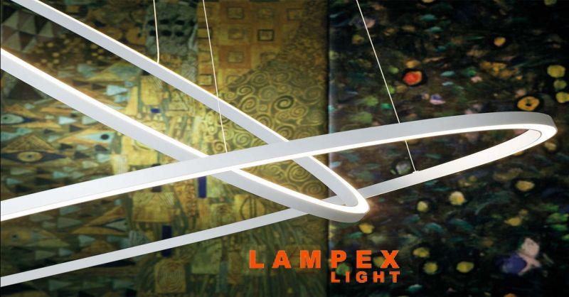 LAMPEX LIGHT offerta Nemo lampade di design Piacenza - occasione lampada Ellisse Pendant Double