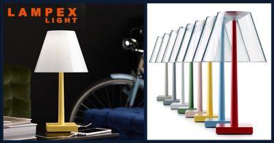 offerta lampada con batteria litio piacenza occasione vendita lampada ricaricabile piacenza