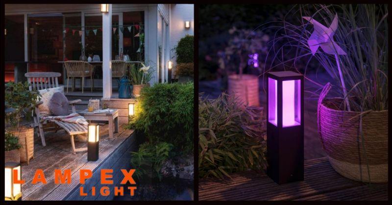 offerta vendita lampada da esterno led Piacenza - occasione lampade da esterno con telecomando