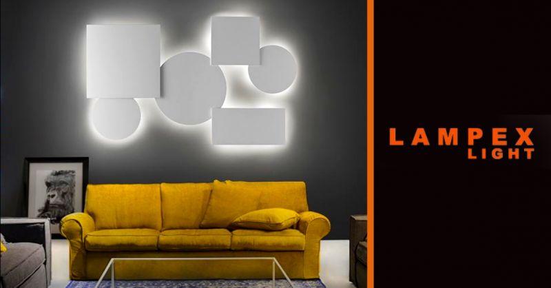 offerta vendita lampade per interni Piacenza - occasione lampade da parete componibili Piacenza