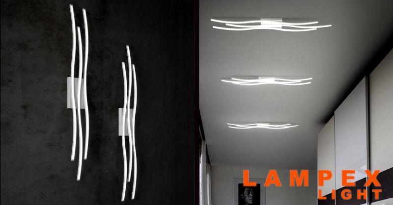 offerta acquisto lampade da parete a led Piacenza - occasione vendita lampadari design Piacenza