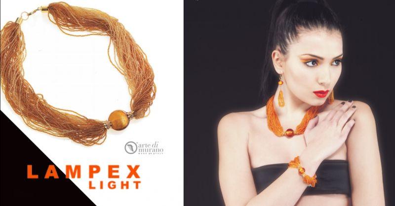 LAMPEX LIGHT - offerta acquisto gioielli in vetro di murano Piacenza