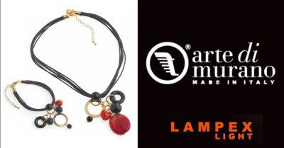 lampex light offerta acquisto gioielli fatti a mano in vetro di murano piacenza