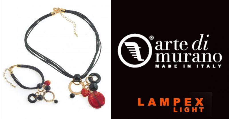 LAMPEX LIGHT - offerta acquisto gioielli fatti a mano in vetro di murano Piacenza