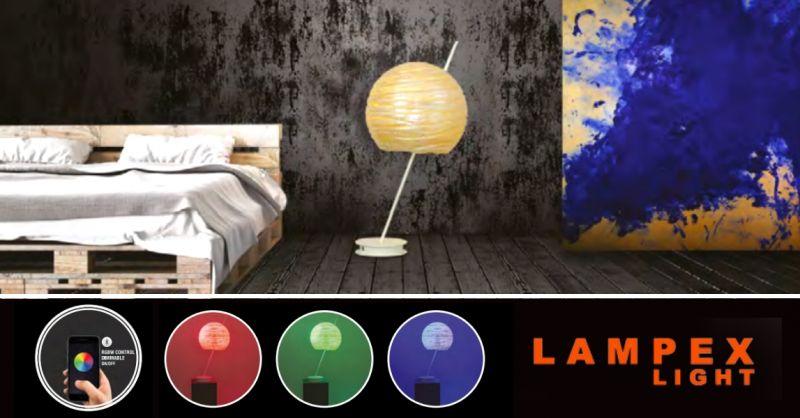 Offerta lampade con controllo remoto Piacenza - occasione vendita lampada da tavolo bluethoot