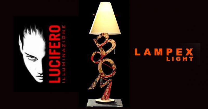 Offerta dove acquistare lampade di design da tavolo - occasione lampade Lucifero Illuminazione
