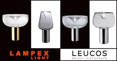 promozione lampada da tavolo in vetro piacenza offerta lampade tavolo leucos lodi cremona