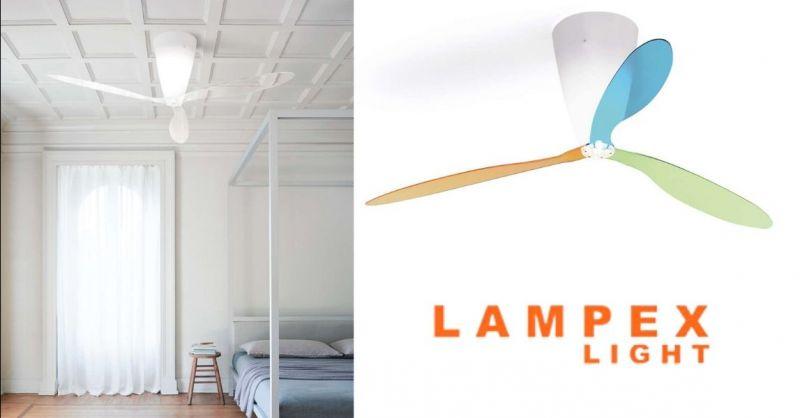 Offerta vendita ventilatore da soffitto con luce - Occasione lampada con ventilatore Cremona Lodi