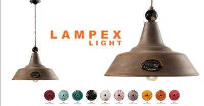 offerta lampada a sospensione retro grunge ferroluce occasione vendita lampada vintage sospensione cremona lodi