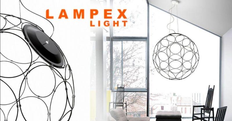 Offerta vendita lampade Fabbian a sospensione Lodi - Occasione lampade originali grandi a sospensione Cremona