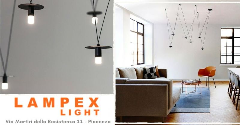 Offerta lampada sospensione minimal Piacenza - Occasione acquisto lampadari minimal design Cremona Lodi