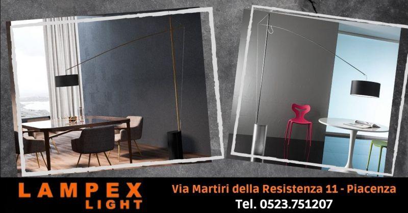 Offerta vendita lampada da terra regolabile in altezza - Occasione lampada piantana moderna Cremona