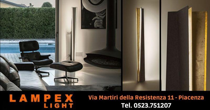 Offerta lampada da terra design minimal Lodi - Occasione vendita piantana REVERSE Icone Cremona